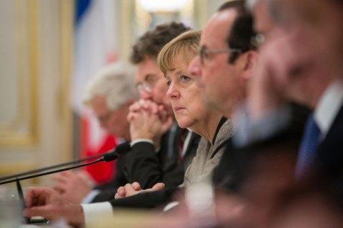 """Меркель: """"нормандская четверка"""" договорилась об амнистии боевиков"""