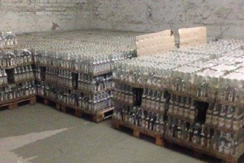 В Херсоне СБУ изъяла партию контрафактного алкоголя на ₴3 млн