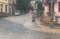 У Чернівцях за три дні випала півмісячна норма опадів