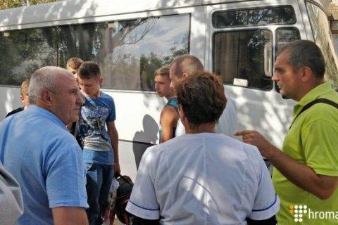 """Из сел в Херсонской области вывозят детей и беременных из-за выбросов """"Титана"""""""