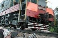 ЧП в Днепропетровске: как «скорый» поезд догонял маневровый