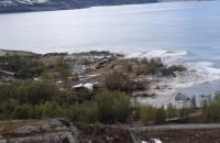 У Норвегії зсув забрав у море кілька будинків