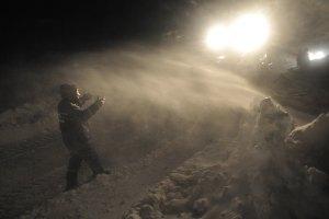 В Полтавской области из снежного плена спасли почти 60 фур