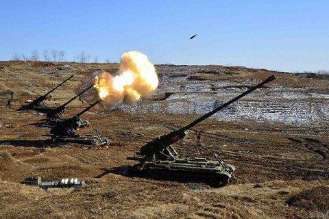 КНДР провела артиллерийские стрельбы вместо ядерных испытаний