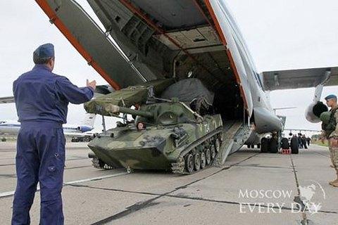 Россия собралась сократить группировку войск в Сирии