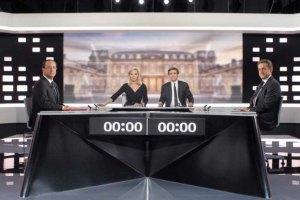 Во Франции прошли предвыборные дебаты
