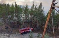 Рятувальники на 9-й день погасили пожежі в Луганській області