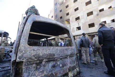 Унаслідок подвійного теракту в Дамаску загинули 20 осіб (оновлено)