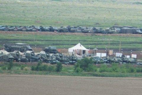 Россия строит еще одну военную базу около границы с Украиной