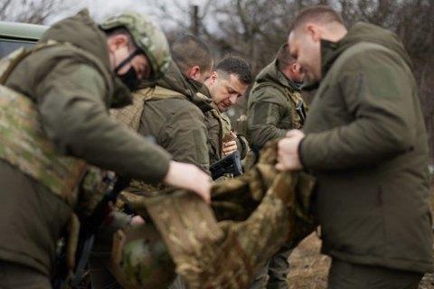 Зеленський планує 8 квітня відвідати Донбас, - ЗМІ