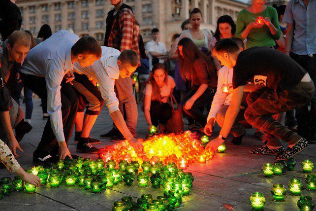 Молодые регионы. свечи