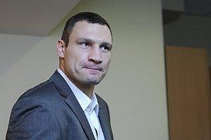 Виталий Кличко отменил летний бой