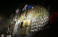 Возле Киева нашли тайник с большим количеством гранатометов