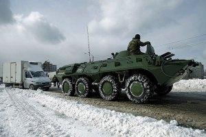 Последствия снегопада устраняют 5 тысяч военных