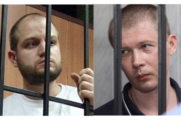 Євген Мефьодов і Сергій Долженков (слева)