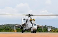 Українські миротворці завдали повітряного удару по бойовиках у ДР Конго