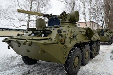 Турчинов заявив про зрослий попит на українські БТР-3Е