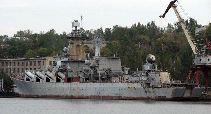 Ракетний крейсер проекту 1164 - 'Україна'