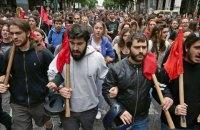 В Афінах протестують проти обмеження права на страйк