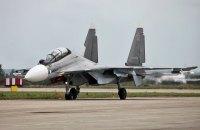 Росія перекинула в Білорусь винищувачі СУ-30СМ