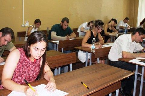 89% абитуриентов из оккупированных районов Донецкой области не смогли попасть на ВНО по математике