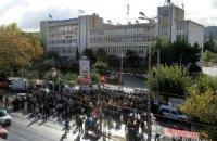 Греческая полиция штурмовала штаб-квартиру телерадиокомпании ERT