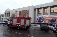 В Черкассах эвакуировали торговый центр из-за пожара в кафе