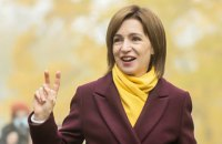 Санду запропонувала розпустити парламент Молдови і відправити уряд Додона у відставку