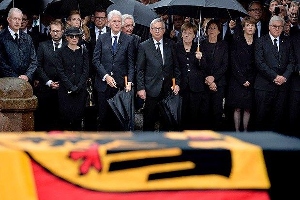 Церемонія прощання з колишнім канцлером Німеччини Гельмутом Колем, Шпаєр, 01 липня 2017.
