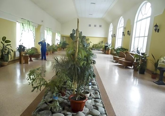 Xоспіс міського онкологічного центру по вулиці Верховинній, 69.