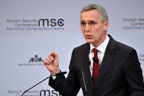 Столтенберг выступил за усиление присутствия НАТО в Черном море из-за действий России