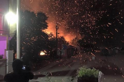 В Одесі спалили кафе (оновлено)