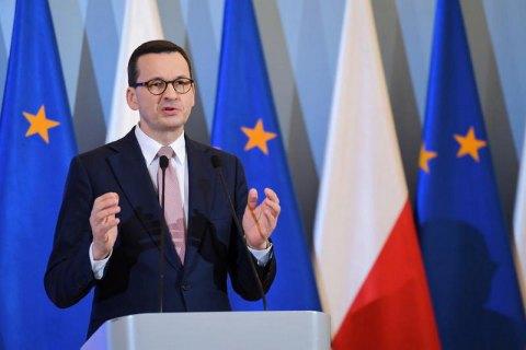 """""""Північний потік-2"""" дає Путіну додаткові інструменти шантажу, - прем'єр Польщі"""