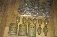 СБУ виявила дві схованки зі зброєю в зоні АТО
