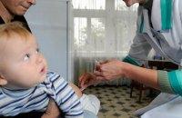 Україна в зоні високого ризику спалаху поліомієліту