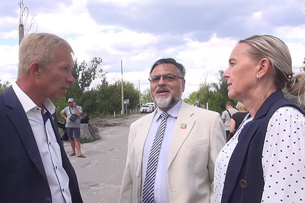 Оккупационные власти ЛНР в Станице Луганской
