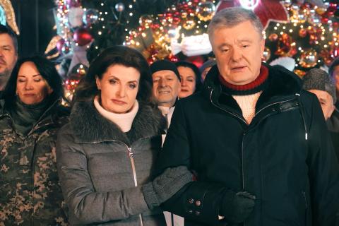 Два українські телеканали другий рік поспіль вмикають новорічне поздоровлення Порошенка замість Зеленського