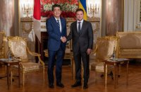 Зеленський подякував Японії за пом'якшення візового режиму для українців