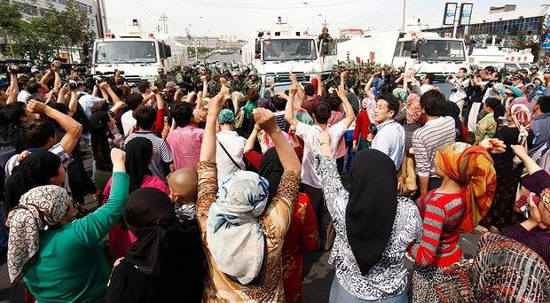 Во время митинга в СУАР