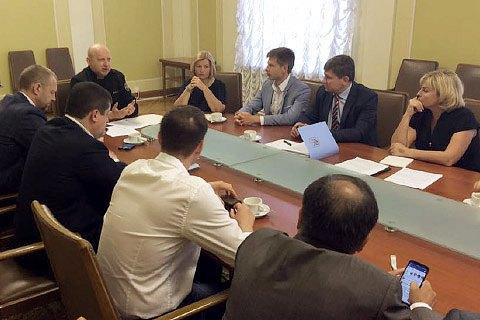 СНБО в ближайшее время рассмотрит законопроект о реинтеграции Донбасса