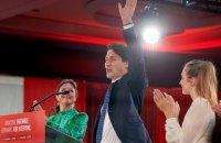 Трюдо і його партія виграли дострокові вибори в Канаді