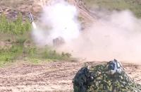 """Порошенко показал испытания """"джавелинов"""" в Украине"""