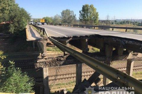"""""""Укравтодор"""" назвав ймовірну причину обвалення мосту в Харкові"""