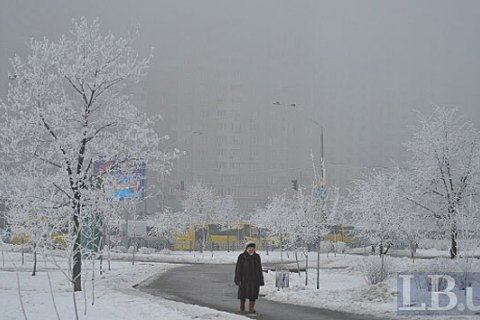 Завтра в Києві до -1 градуса