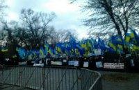 В Днепропетровске согнали 5000 бюджетников на Антимайдан