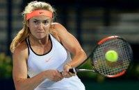 Свитолина выиграла на турнире в Дубае