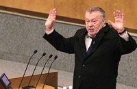 Жириновский по телефону угрожал Парубию