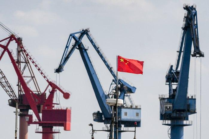 Китайський суднобудівний завод Yangzijiang Shipbuilding Group, Цзяньцзінь, 18 жовтня 2018