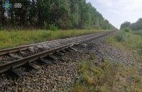 На Житомирщині невідомі намагалися підірвати потяг із пальним