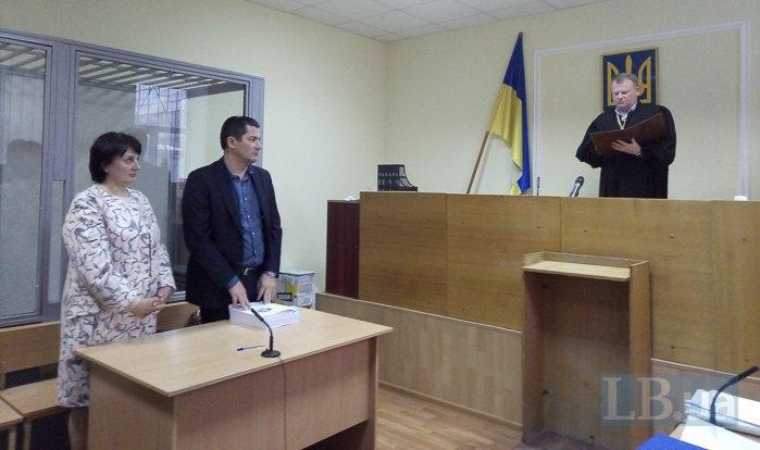 Судья Ефимова (слева)